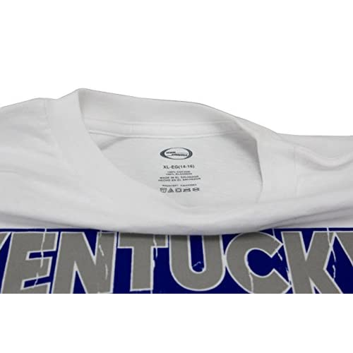 Team Athletics Youth NCAA University of Kentucky Wildcats T-Shirt White