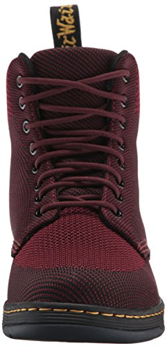Dr. Martens Rigal Stickat Mode Boot Oxblood / Svart Stickad
