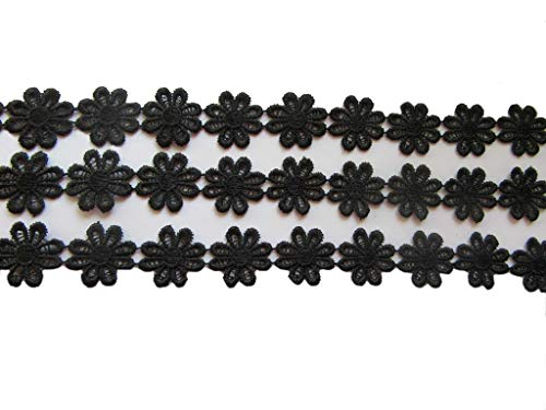 YYCRAFT 15 Yards Daisy Flower Lace Edge 1