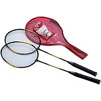 Sportica Sdb53 Badminton Raket Set Badminton, Unisex, Siyah, M