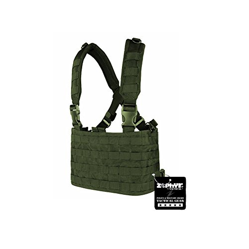 Zephyr Tactical OPS Chest Rig - Olive Drab