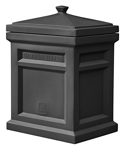 "Step2 583199 Express Package Delivery Box, 31""H x 18""W x 23""D, Black"