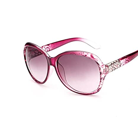 Amazon.com : Buildent(TM) Oval Sunglasses Women Retro ...