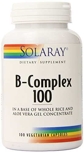 Solaray B Complex Supplement, 100mg, 100 Count
