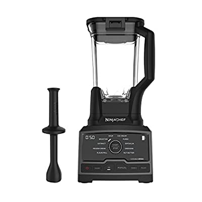 Ninja Chef Countertop Blender with 1500-Watt Auto-iQ Base, 10 Pre-Sets, 10 Speeds, Dishwasher Safe 72-Ounce Pitcher, and 50 Recipe Booklet