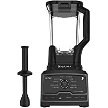 Ninja Chef Countertop Blender with 1500-Watt Auto-iQ Base, 10 Pre-Sets, 10 Speeds, Dishwasher Safe 72-Ounce Pitcher, and 50 Recipe Booklet (CT805)