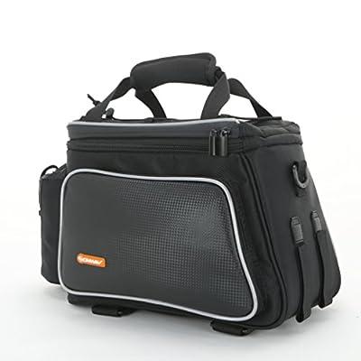 Onway Waterproof Nylon Cycling Bicycle Bike Rack Bag Seat Cargo Bag Rear Pack Trunk Pannier Backseat Bag Outdoor With Bottle Case