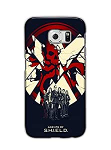 Tomhousomick Cool Design Agents of S.H.I.E.L.D LOGO Case Cover for Samsung Galaxy S6