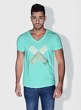 Creo Paris Louvre X City Love T-Shirts For Men - S, Green