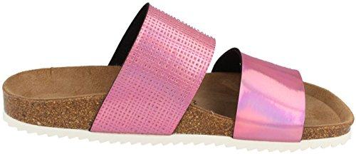 Schuh Bonova Material Rosa Sintético Zuecos Gmbh Mujer De Para drqrI