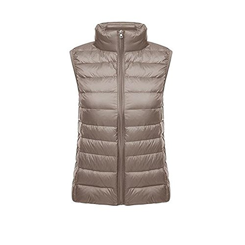 Windproof Ake Down Coat Pluma Chaleco Camel Chaquetas Puffer Mujer light De Ultra TxqzTw6