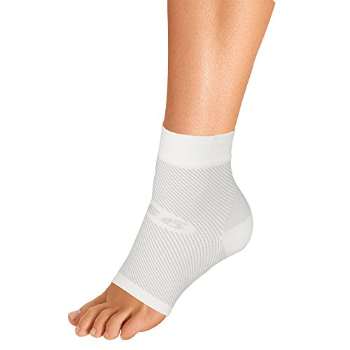 OrthoSleeve FS6 Foot Bracing Single Sleeve Treats Plantar Fasciitis, Achilles Tendonitis and relieves Heel Pain in a Soft, Moisture-Wicking Fabric -