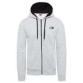 THE NORTH FACE Hooded Sweatshirt M Extent II Logo Grey Melange/Black M