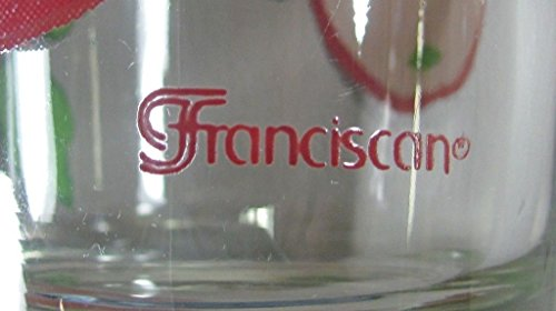 Franciscan Glassware APPLE Double Old Fashioned(s) Franciscan Glassware