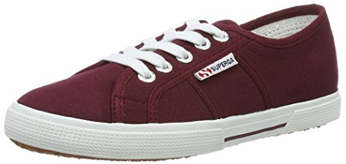 Superga2950 Cotu - Zapatillas Unisex adulto Rojo (Dark Bordeaux)