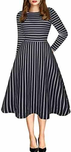 fca60d94efe83 Shopping oxiuly - XXL - Stripes - Dresses - Clothing - Women ...