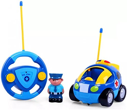 Haktoys First Cartoon Police Car product image