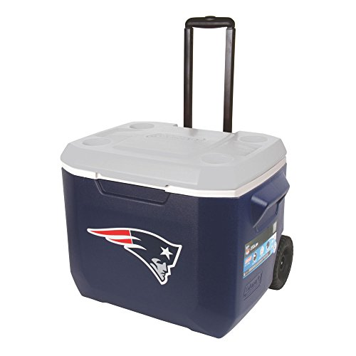 Nfl Cooler (Coleman NFL 60 Quart Wheeled Cooler)