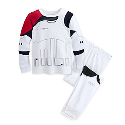 Disney Star Wars: The Force Awakens Stormtrooper Pj Pals for Kids (3),White -