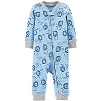 Macacão Pijama Sem Pé Leãozinho - Carter's
