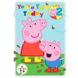 Tarjeta de cumpleaños Peppa Pig - 2do tarjeta de cumpleaños ...