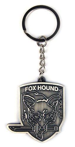 Metal Gear Solid Rising Foxhound Metal Keychain