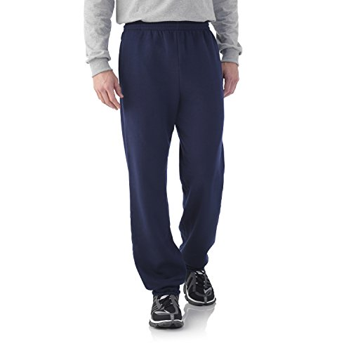 fruit-of-the-loom-best-collectiontm-mens-fleece-elastic-bottom-pant-xx-large-jnavy