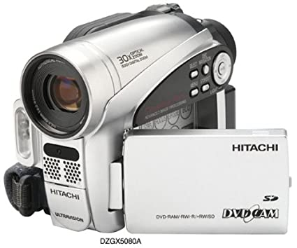 amazon com hitachi dzgx5080a dvd camcorder with 30x optical zoom rh amazon com Hitachi StarBoard Manual Hitachi TV Repair Manual