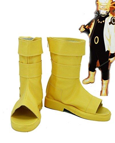 Bromeo NARUTO Anime Uzumaki Naruto Cosplay Schuhe Stiefel Stiefeletten