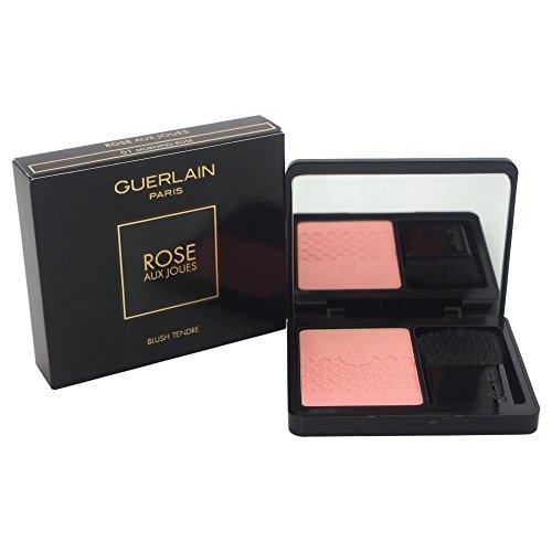 Morning Tender Blush - Guerlain Aux Joues Tender # 01 Morning Rose Blush for Women, 0.22 Ounce