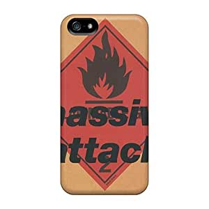 TimeaJoyce Iphone 5/5s Scratch Resistant Cell-phone Hard Covers Provide Private Custom Colorful Massive Attack Band Pattern [Ehr7662CQkf]