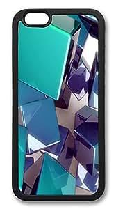 ACESR 3d Cubes Best iphone 6 plusd 5.5 Case TPU Back Cover Case for Apple iphone 6 plusd 5.5inch Black