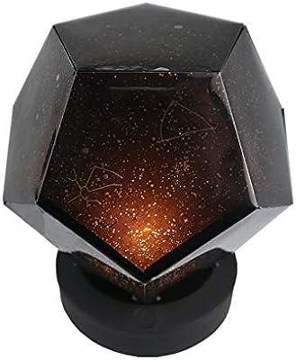 Luz de Noche Cielo Estrellado Proyector de Dormitorio Estrellado ...