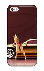 AmandaMichaelFazio Perfect Tpu Case For Iphone 5/5s/ Anti-scratch Protector Case (car Girl)