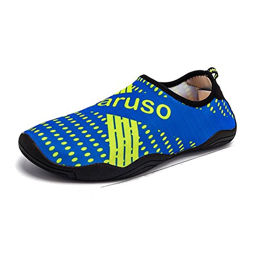 Set Aqua Womens Color Diving Barefoot Mens Shoes Non Feet Soft Beach Outdoor Swimming Black Leisure Wading 2018 And New Water Shoes 46 Shoes Blue Size slip Summer Couple Shoes Spring ZEqUEw4d5x
