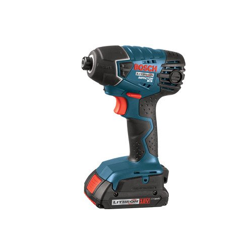 Factory-Reconditioned Bosch 25618-02-RT 18V Cordless Lithium-Ion 1/4 in. Impact Driver w/ SlimPack Batteries - Factory Reconditioned 18v Compact