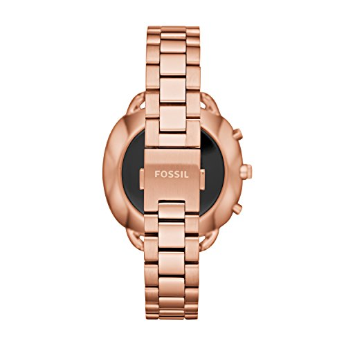 Fossil Hybrid Smartwatch - Q Accomplice Rose Gold-Tone Stainless Steel FTW1208 by Fossil (Image #2)