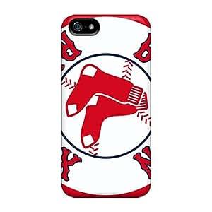 MansourMurray Iphone 5/5s Anti-Scratch Hard Phone Case Customized Lifelike Boston Red Sox Skin [nYp20146XiKb]