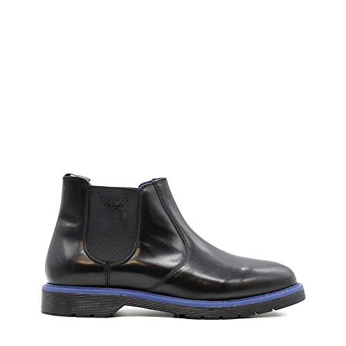 Stivaletti Chelsea boot armani jeans nero