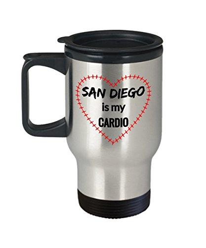 SAN DIEGO Travel Mug - San Diego is My Cardio -