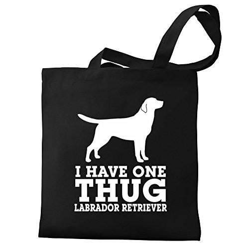 Eddany I have one thug Labrador Retriever Bereich für Taschen