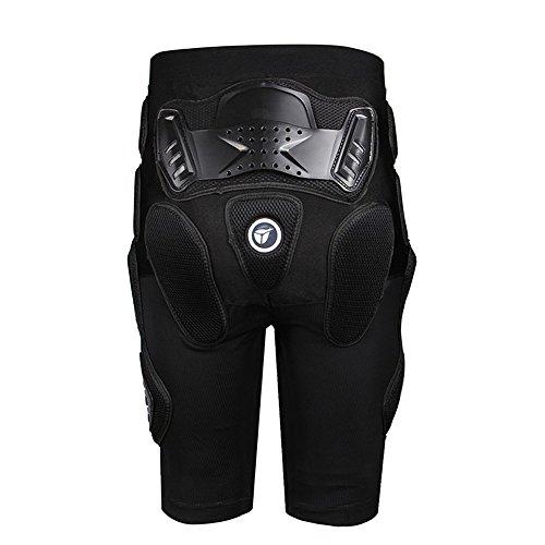 HEROBIKER Unisex Moto Sport Protective Gear Hip Pad Motorcross Off-Road Downhill Mountain Bike Skating Ski Hockey Armor Shorts (XL) by HEROBIKER (Image #1)