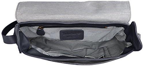 Timberland Tb0m5250, Borsa a Tracolla Donna, 13.5x23x34.5 cm (W x H x L) Blu (Black Iris)
