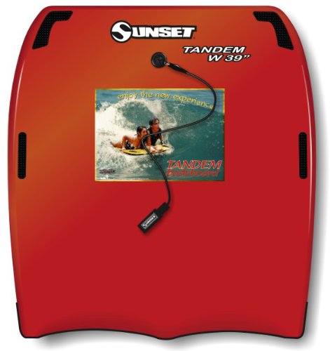 Liquid Shredder 42.5X39 Tandem Body Board (Red, 39-Inch)