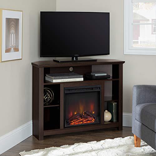 WE Furniture AZ44FPHBCES Fireplace TV Stand 44