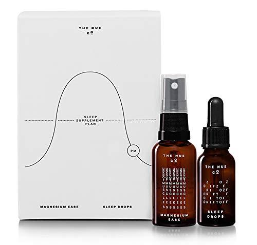 The Nue Co. - Natural Sleep Kit   Magnesium Ease + Sleep Drops (Magnesium And Sleep)