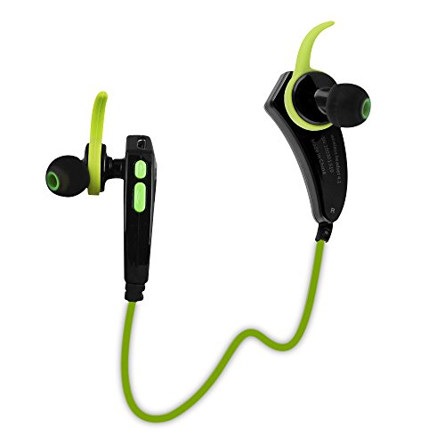 wiszen wireless bluetooth headphone in ear ear hook for sports and exercise bluetooth headset. Black Bedroom Furniture Sets. Home Design Ideas