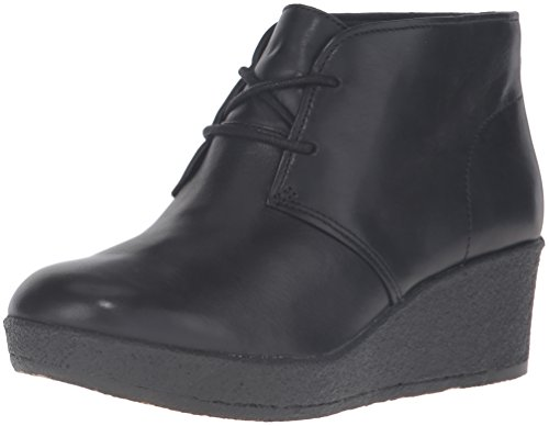 Terra Athie Women's CLARKS Boot Leather Black xZ17wq