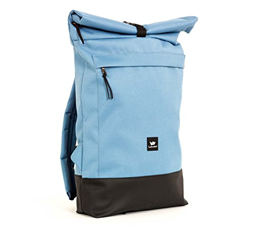Freibutler - Bolso Courier bag II Sky-Blue