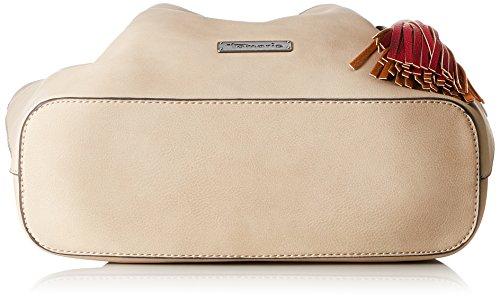 Beige Shoulder Bag Tamaris portés Natalie Comb Pepper Sacs épaule fYqzw65E